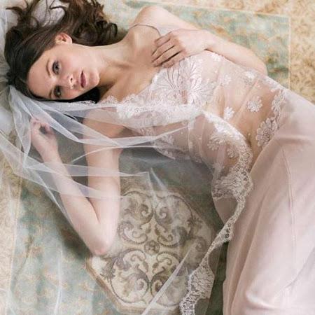 les plus belles marques de lingerie de mariage , shell belle couture