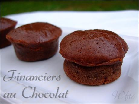 Financiers chocolat1