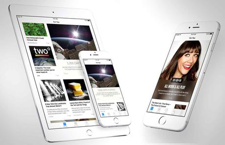 iOS 9: News remplace Kiosque sur iPhone et iPad