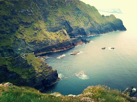 Wild Atlantic Way, étape 6, les falaises du Kerry.
