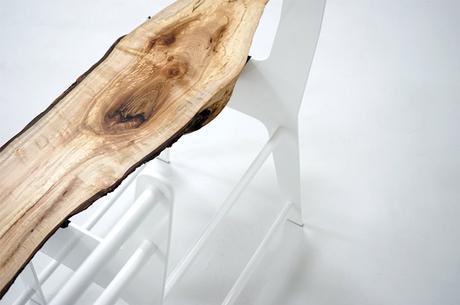 Bench_01 le banc tronc par Cradle Design
