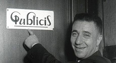 Logo Publicis dessiné par Marcel Bleustein-Blanchet