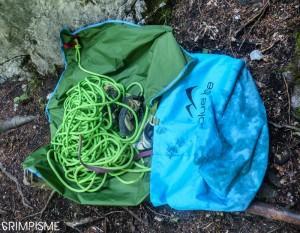 sac corde escalade koala blue ice