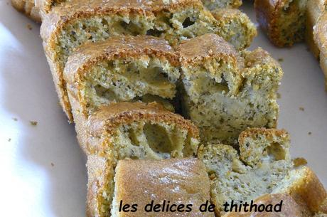 cakes au pesto vert