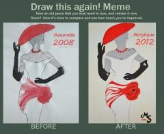 draw this again, draw, again, dessin, meme, mode, fashion, dior, elegant, élégance