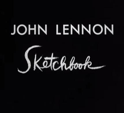 Un film d'animation créé à partir des dessins de John Lennon