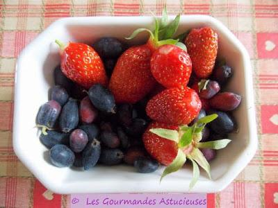 Les fruits du moment dans mon jardin !