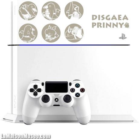 Custom PS4 Blanche Blog
