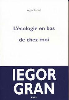 L'ECOLOGIE EN BAS DE CHEZ MOI