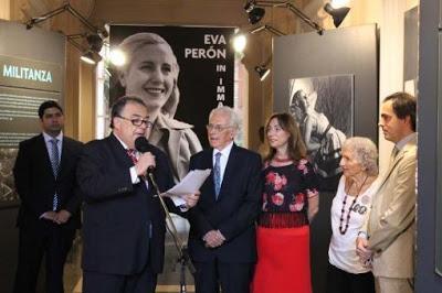 Exposition Evita à Rome [ici]
