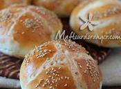 Petits pains pour sandwich (sans lait)