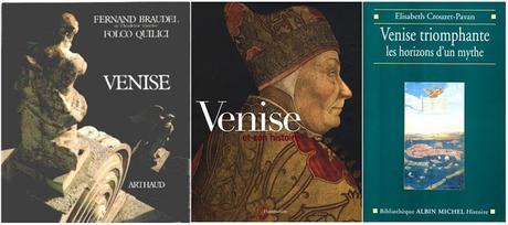 Une bibliothèque vénitienne : les livres sur Venise