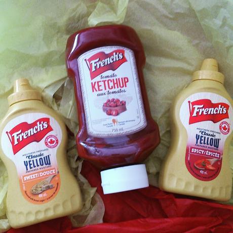 C'est la saison de la moutarde et du Ketchup