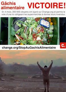 Gaspillage Alimentaire : Un vote Historique !