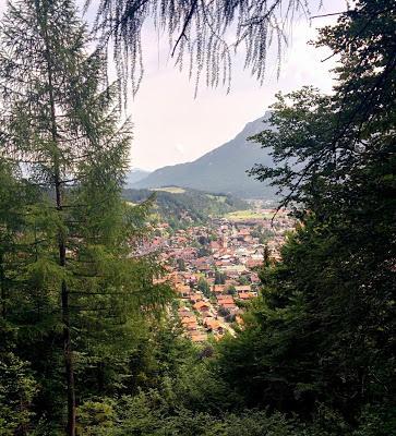 Belles promenades: de Mittenwald au chalet de l´Ederkanzel, vue panoramique sur les vallées de l´Isar et de Leutasch