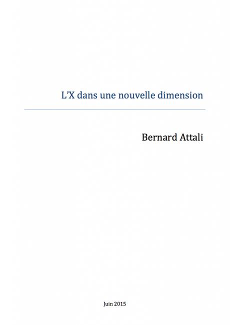 Rapport Bernard Attali