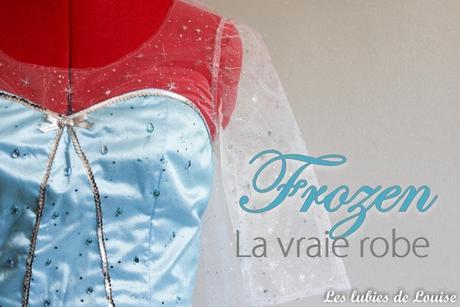 Costume reine des neiges Frozen-titre les lubies de louise