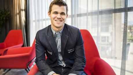Le champion du monde d'échecs norvégien Magnus Carlsen © site officiel