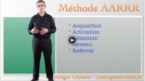 Les 5 vidéos de la Méthode AARRR