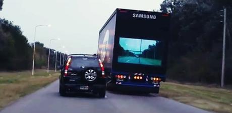 Coup de coeur : Samsung Truck imagine la vidéosécurité routière