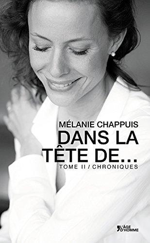 Dans la tête de Tome 2, par Mélanie Chappuis