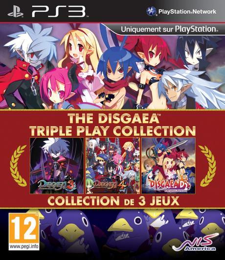 The Disgaea Triple Play Collection arrive en europe