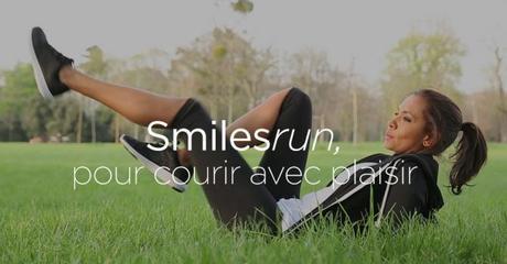 Smiles Run : l'appli' running par Karine Le Marchand