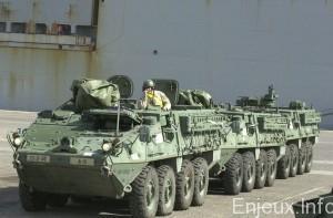 Des armes lourdes américaines en Europe de l'Est pour prévenir une agression russe