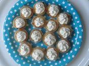 Cupcakes salés carotte/cumin topping Boursin