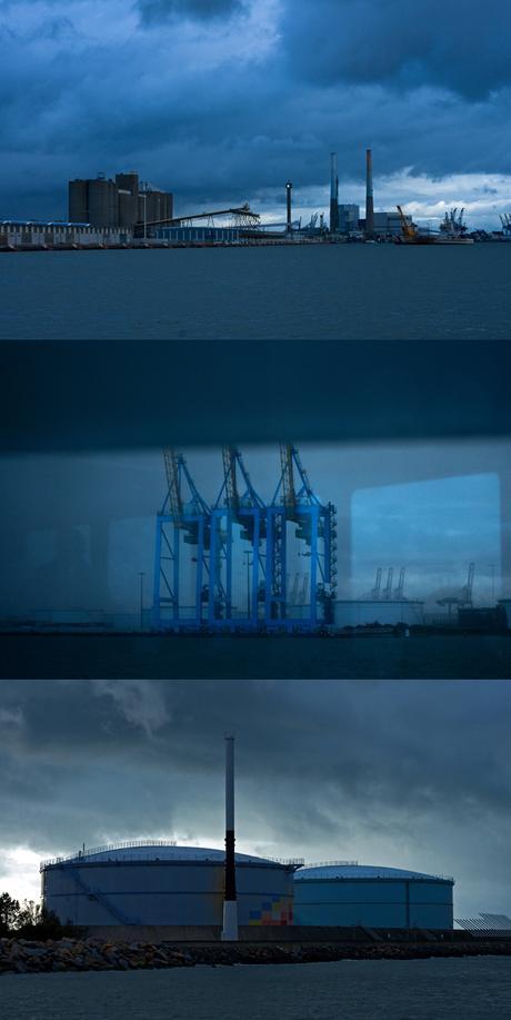 Évasion bleu marine