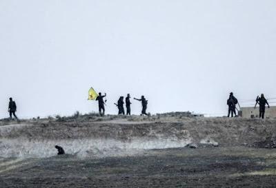 Les Kurdes coupent un accès vital pour l'État Islamique entre la Syrie et la Turquie