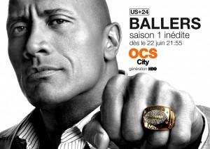 Ballers saison 1, une série bling-bling et virile