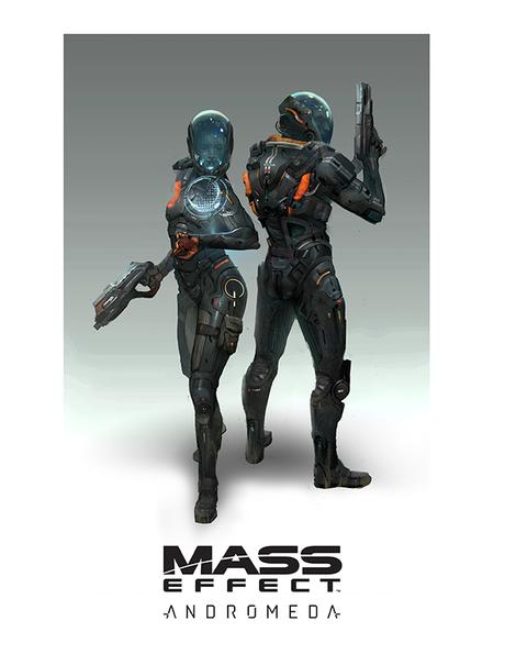 Mass Effect Andromeda les premières images