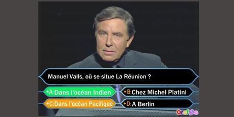Valls situe La Réunion dans le Pacifique