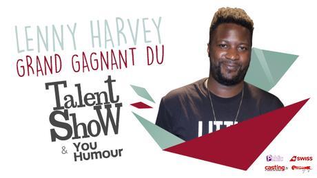 Lenny Harvey gagne le concours Talent Show YouHumour