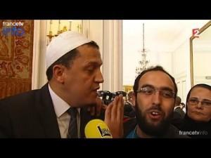 Un responsable musulman dénonce Hassan Chalghoumi pendant qu'il est interrogé par les médias