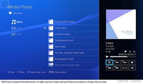La PS4 accueille enfin un lecteur multimedia