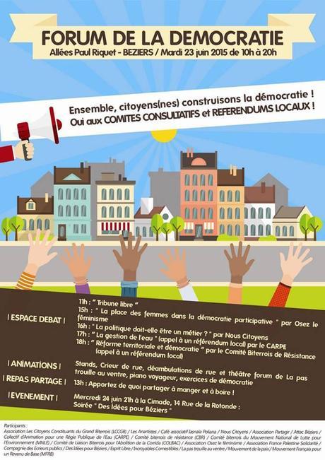Forum de la démocratie à Béziers