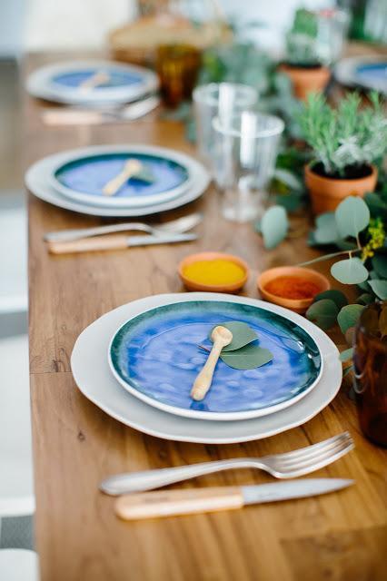 Un repas d'été dans l'esprit Kinfolk