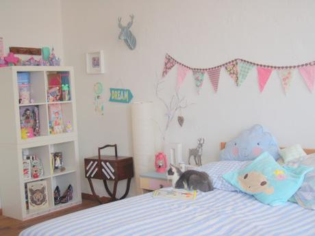 La chambre aux rêves pastel.