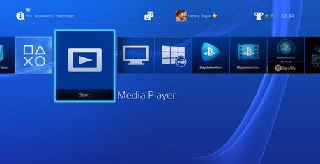 Un nouveau lecteur multimédia vous attend sur votre PlayStation4