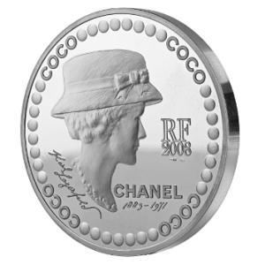 Monnaire de Paris Coco Chanel Esprit de Gabrielle