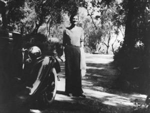 Coco Chanel à La Pausa Roquebrune espadrille Chanel Esprit de Gabrielle