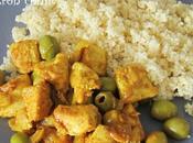 Escalopes poulet olives citron confit