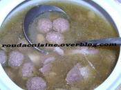 Mtouem (boulettes viande l'ail) المثوم