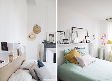 Une t te de lit fait maison d couvrir - Tete de lit maison ...