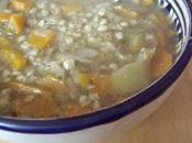 Soupe tchèque sarrasin carottes