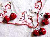 Petits pois, fraises cerises