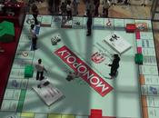 Monopoly plateau géant installé Dubaï dans centre commercial