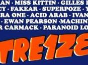 Free Your Funk présente Treize Erol Alkan, Miss Kittin, Gilles Peterson, Etienne Crecy, Fakear, Superpoze, yuksek, pone, Concorde Atlantique
